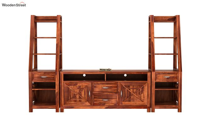 Charon Tv Unit (Honey Finish)-4