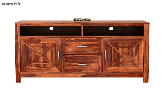 Charon Tv Unit (Honey Finish)-7