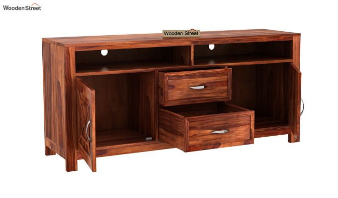 Charon Tv Unit (Honey Finish)-8