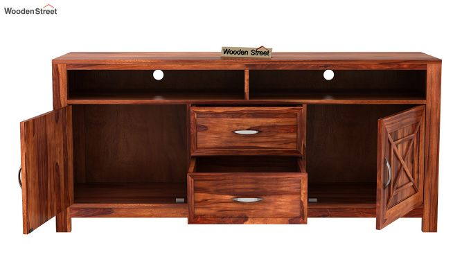 Charon Tv Unit (Honey Finish)-9