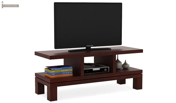 Cornish Tv Unit (Mahogany Finish)-1