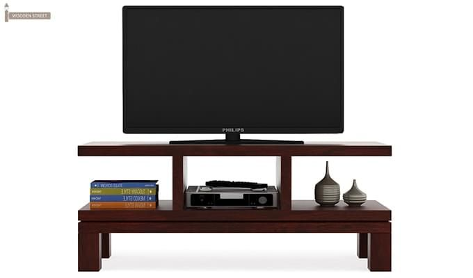 Cornish Tv Unit (Mahogany Finish)-3