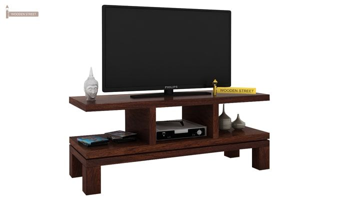 Cornish Tv Unit (Walnut Finish)-1