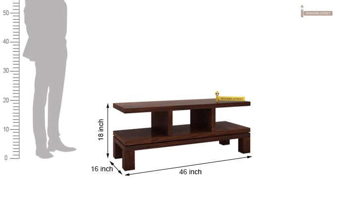 Cornish Tv Unit (Walnut Finish)-4
