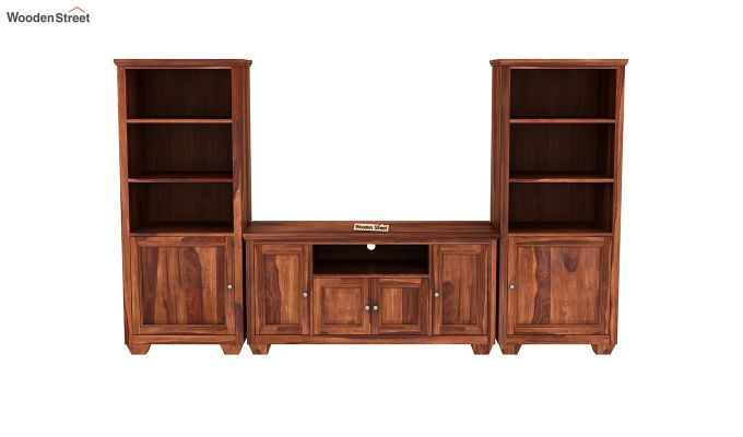 Delaila Tv Unit (Honey Finish)-3