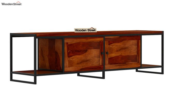 Denver Tv Unit (Honey Finish)-4