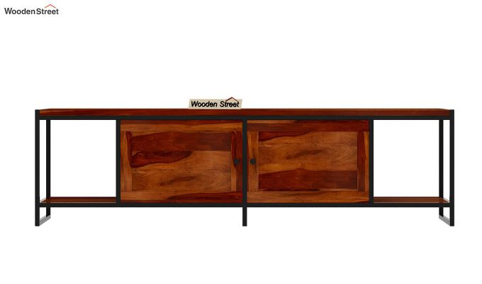 Denver Tv Unit (Honey Finish)-5