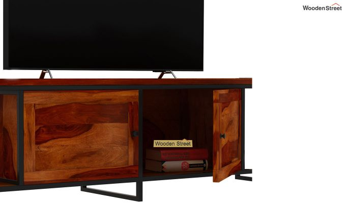 Denver Tv Unit (Honey Finish)-6