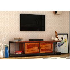 Denver Tv Unit (Honey Finish)
