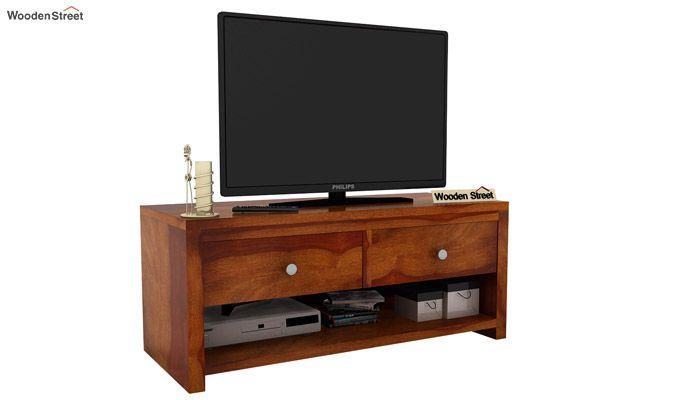 Denzel Tv Unit (Honey Finish)-2