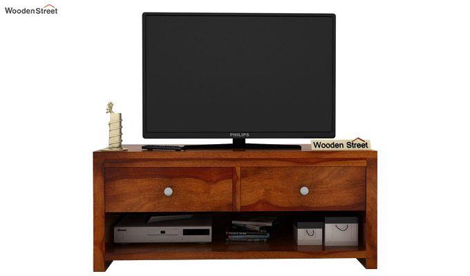 Denzel Tv Unit (Honey Finish)-3