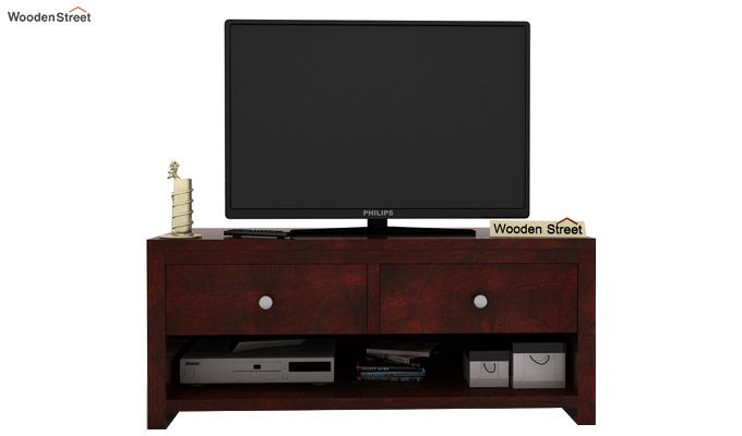 Denzel Tv Unit (Mahogany Finish)-2