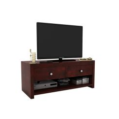 Denzel Tv Unit (Mahogany Finish)