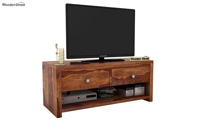 Denzel Tv Unit (Teak Finish)-1