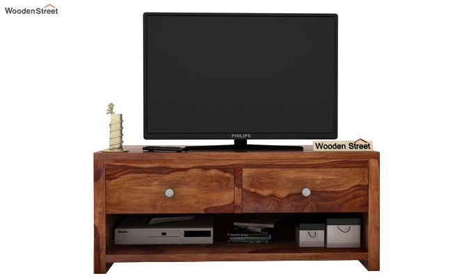 Denzel Tv Unit (Teak Finish)-2