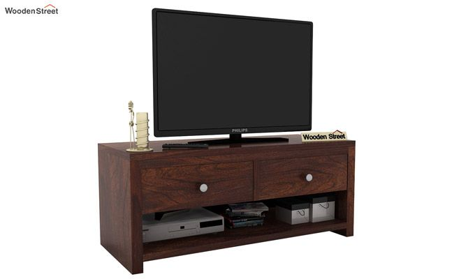 Denzel Tv Unit (Walnut Finish)-1