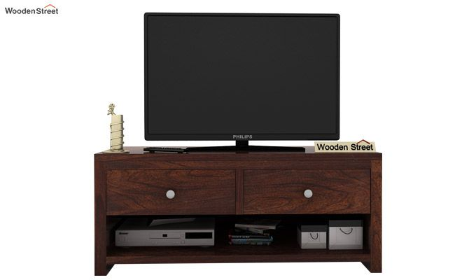 Denzel Tv Unit (Walnut Finish)-2