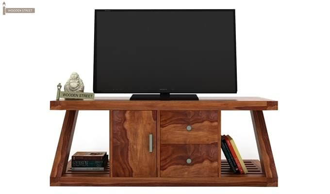 Doritos Tv Unit (Teak Finish)-1