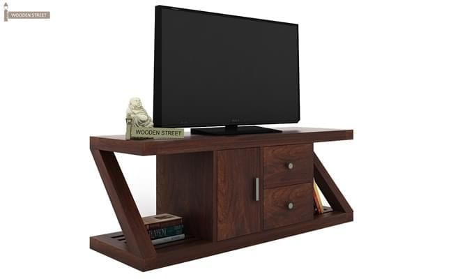 Doritos Tv Unit (Walnut Finish)-2
