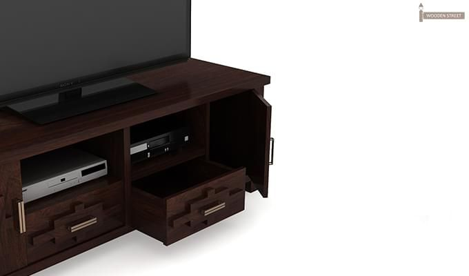 Eden Tv Unit (Walnut Finish)-5