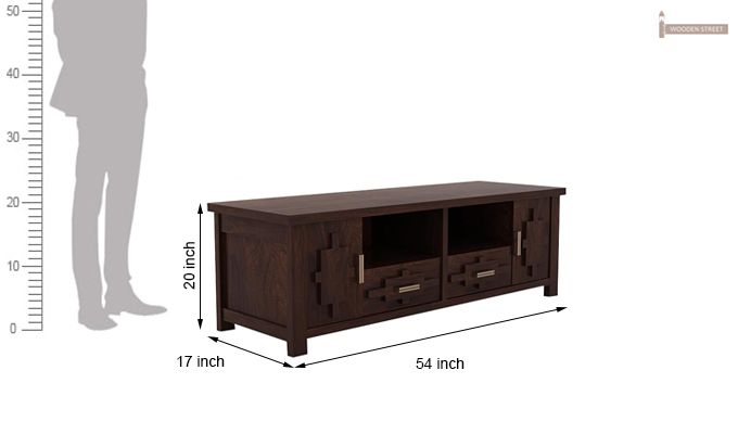 Eden Tv Unit (Walnut Finish)-6