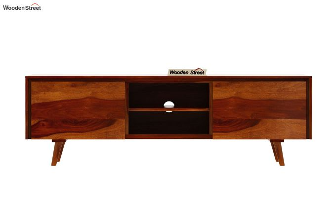 Enkel Tv Unit (Honey Finish)-5