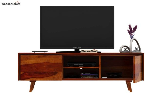 Enkel Tv Unit (Honey Finish)-6