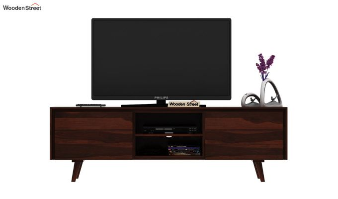 Enkel Tv Unit (Walnut Finish)-3