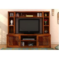 Epcot Tv Unit (Honey Finish)