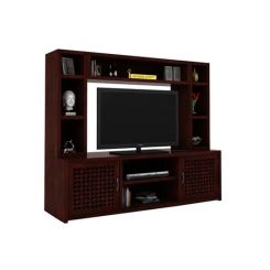 Epcot Tv Unit (Mahogany Finish)