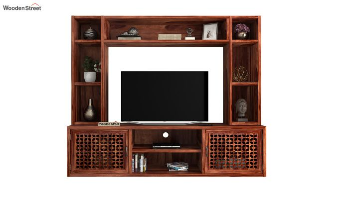 Epcot Tv Unit (Honey Finish)-3