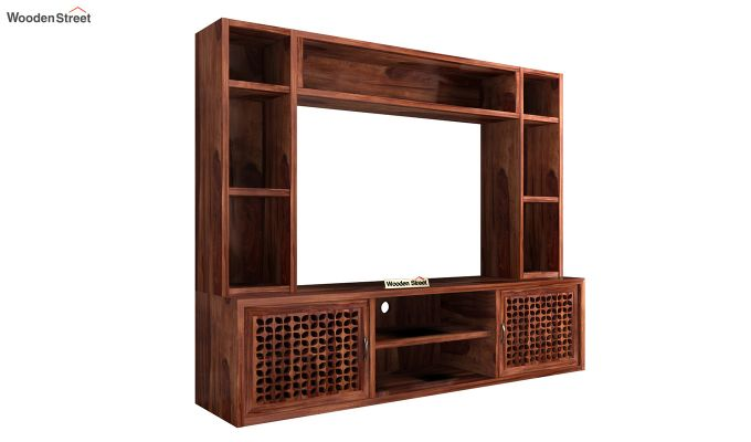Epcot Tv Unit (Honey Finish)-4