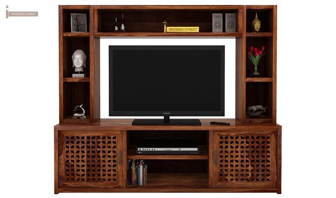 Epcot Tv Unit (Teak Finish)-2