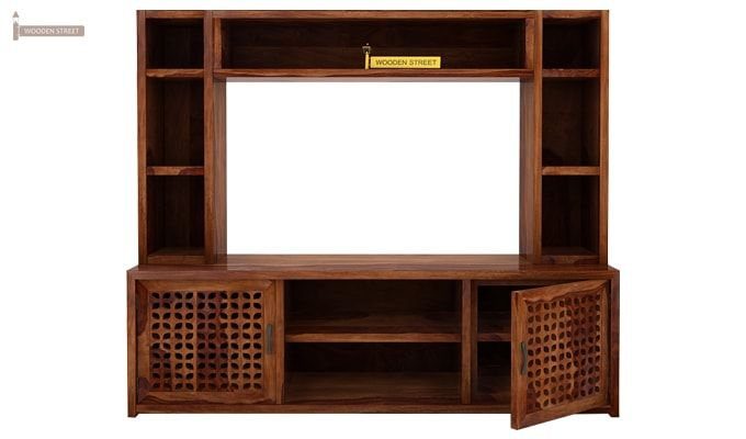 Epcot Tv Unit (Teak Finish)-4