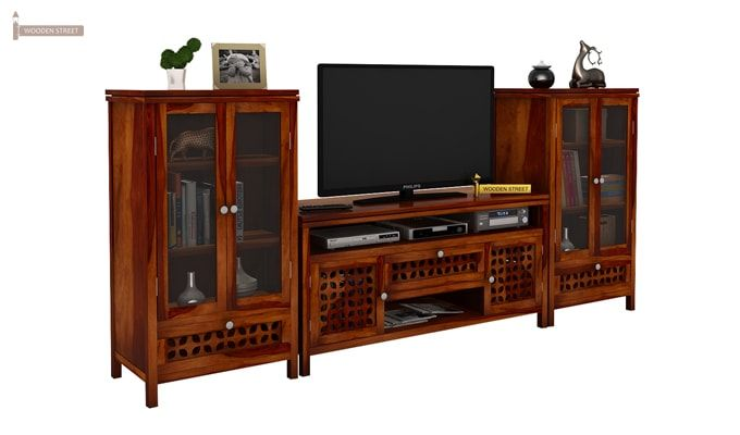 Ernest Tv Unit (Honey Finish)-1