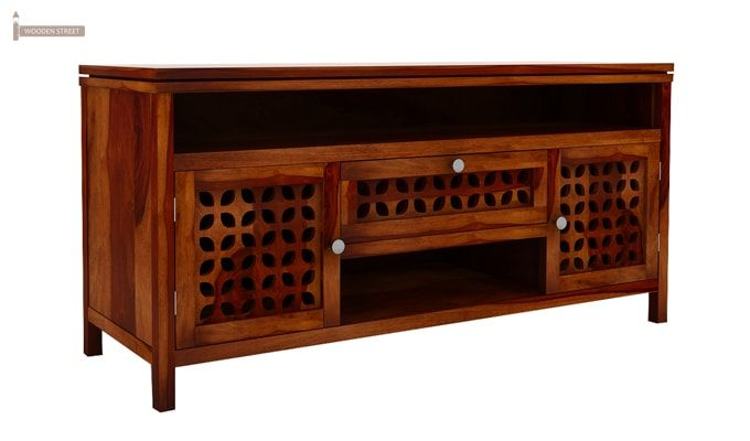 Ernest Tv Unit (Honey Finish)-5