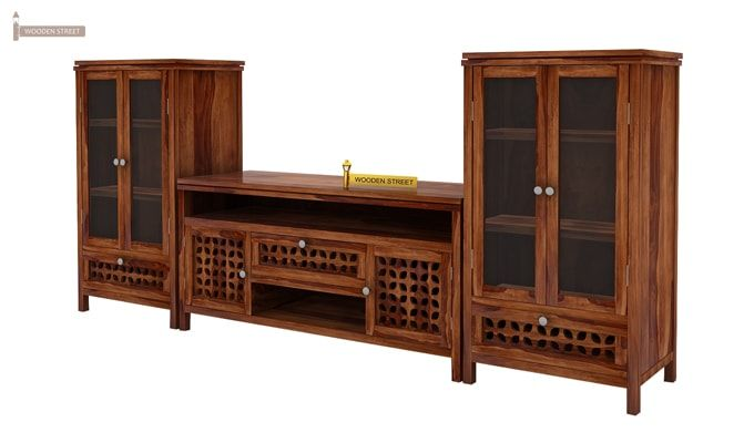 Ernest Tv Unit (Teak Finish)-3