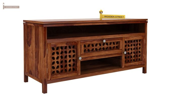 Ernest Tv Unit (Teak Finish)-5