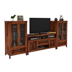 Ernest Tv Unit (Teak Finish)