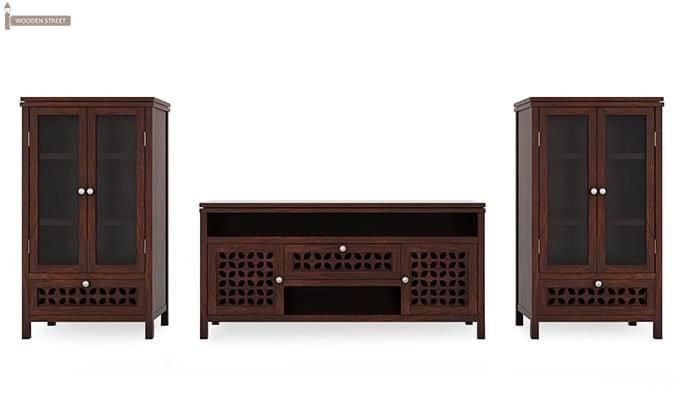 Ernest Tv Unit (Walnut Finish)-4