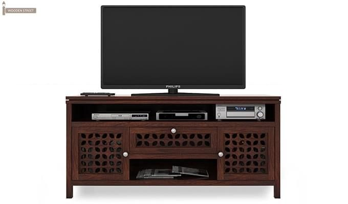 Ernest Tv Unit (Walnut Finish)-7