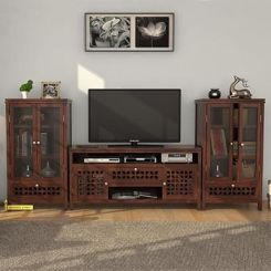 Ernest Tv Unit (Walnut Finish)