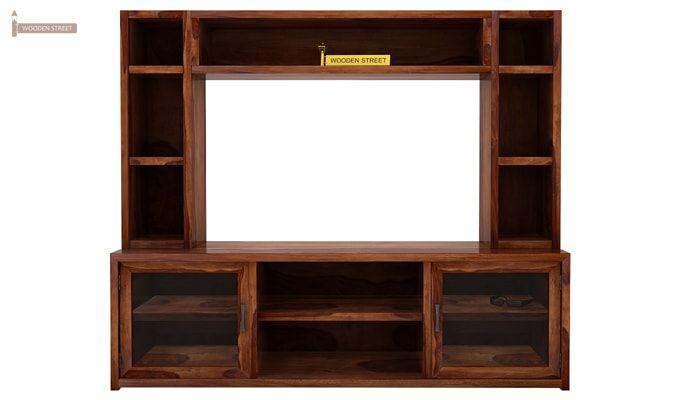 Estell Tv Unit With Shelves (Teak Finish)-3