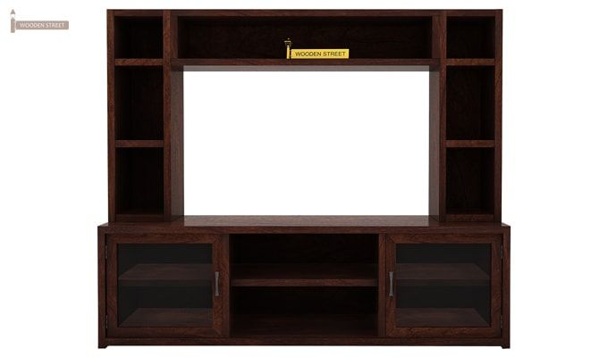 Estell Tv Unit With Shelves (Walnut Finish)-3