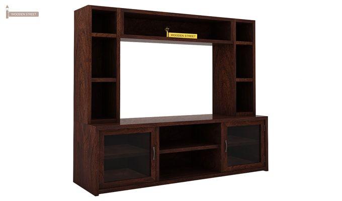 Estell Tv Unit With Shelves (Walnut Finish)-4