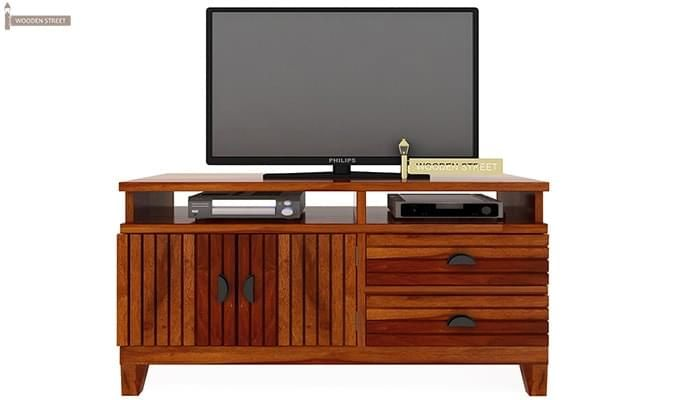 Felner Tv Unit (Honey Finish)-2