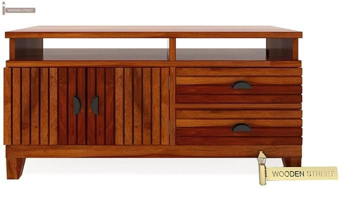 Felner Tv Unit (Honey Finish)-4