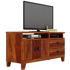 Felner Tv Unit (Honey Finish)
