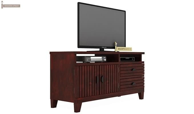 Felner Tv Unit (Mahogany Finish)-1