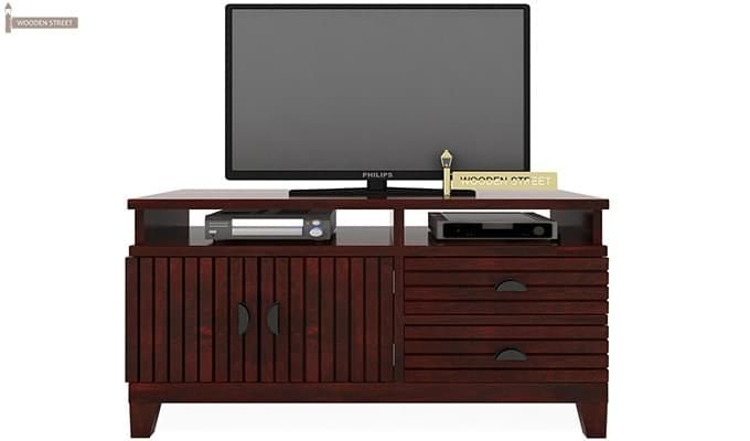 Felner Tv Unit (Mahogany Finish)-2